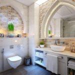 Los muebles de baño en madera natural la tendencia de este otoño