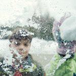 Nieve para decoración