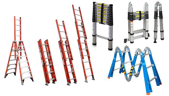 Así son las escaleras y andamios de aluminio