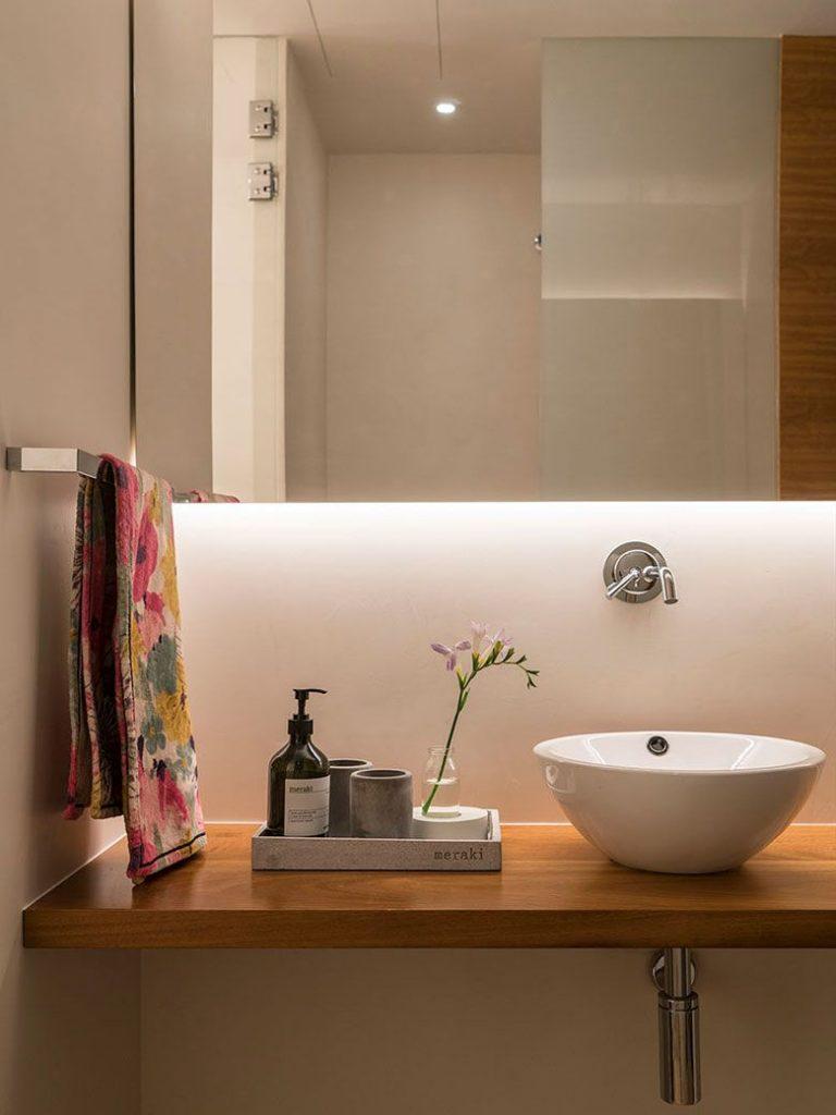 trucos para decorar baños mini