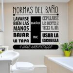 Vinilos decorativos para baños: un toque original y único