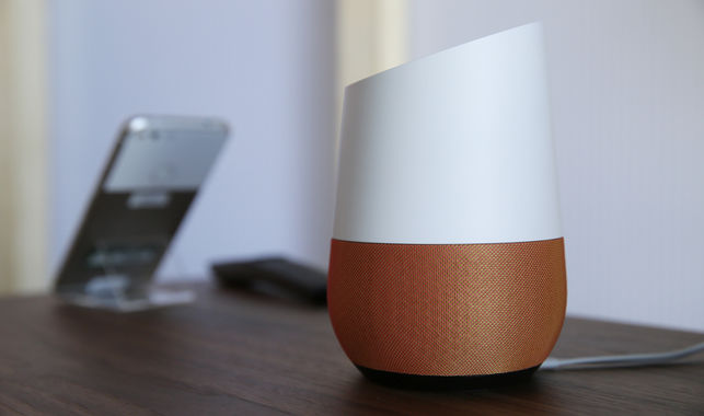 Google Home dispositivos