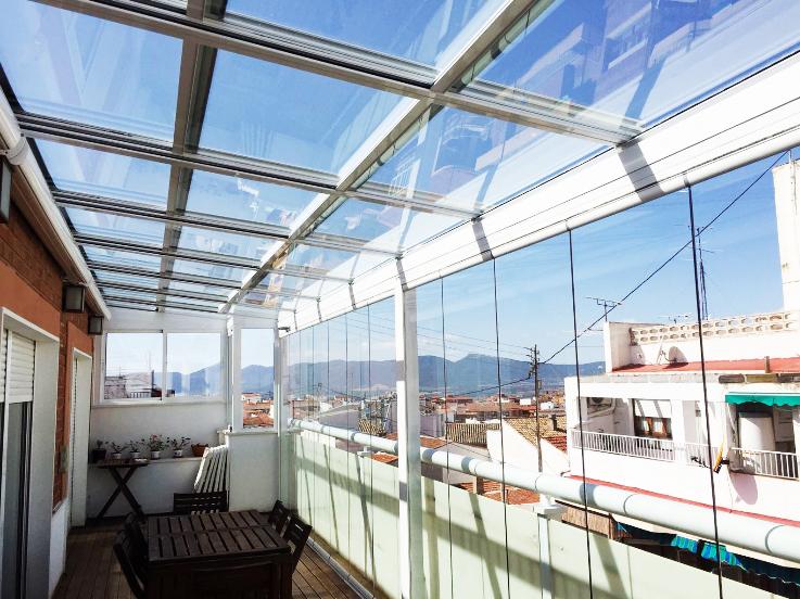cortinas de cristal balcon