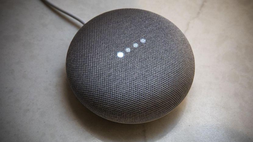 Google Home mini dispositivo