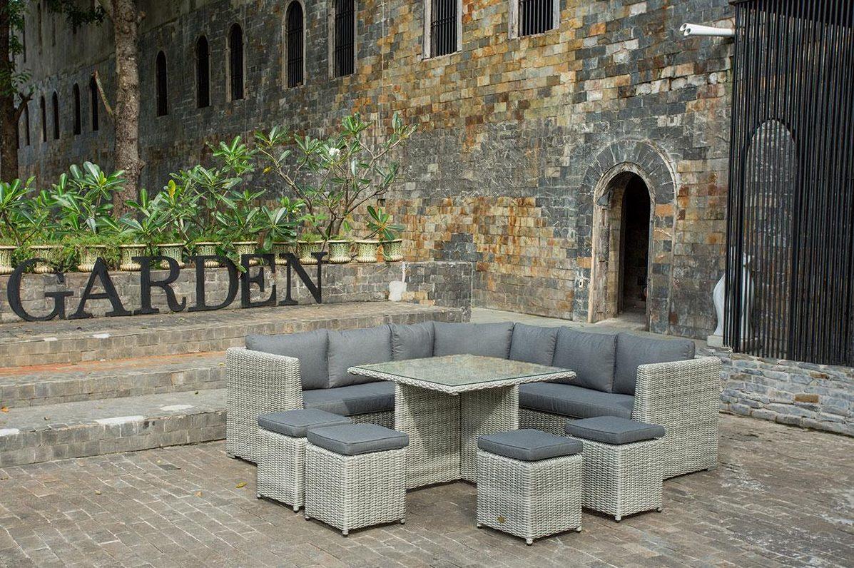 jardin sillas ratan