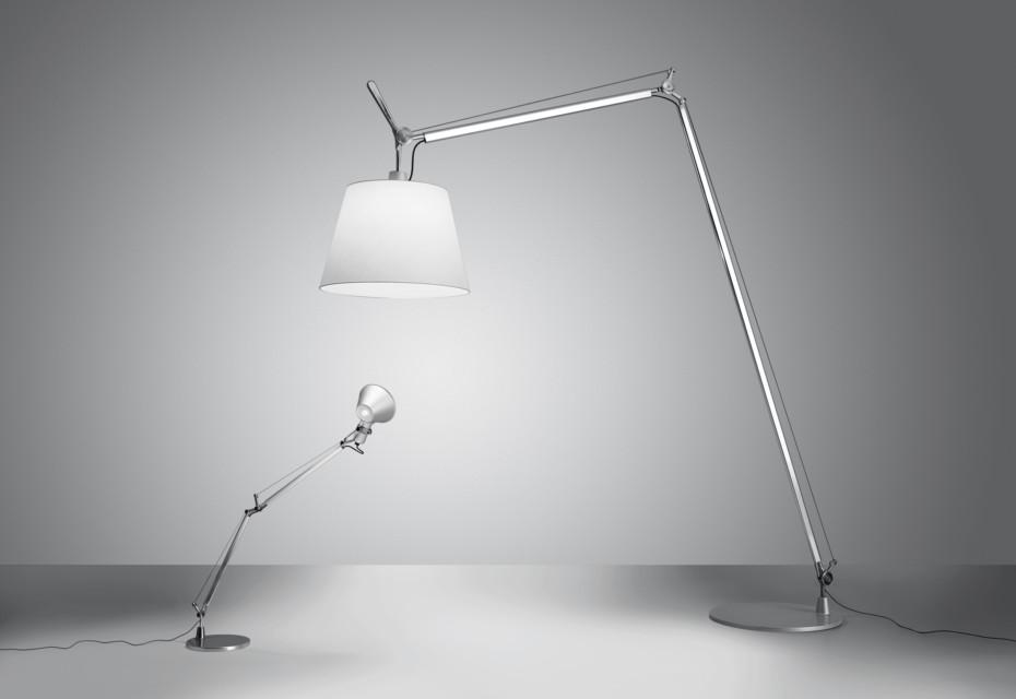 lámpara pie de mesa