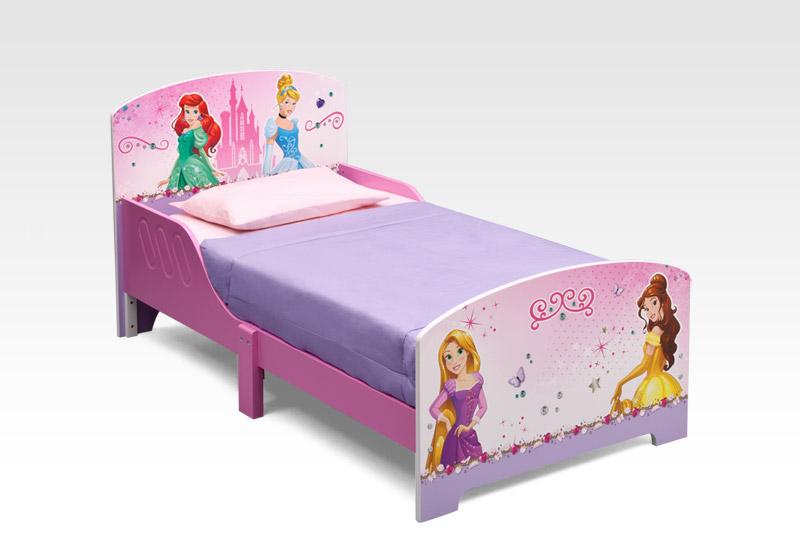 cama nina princesas