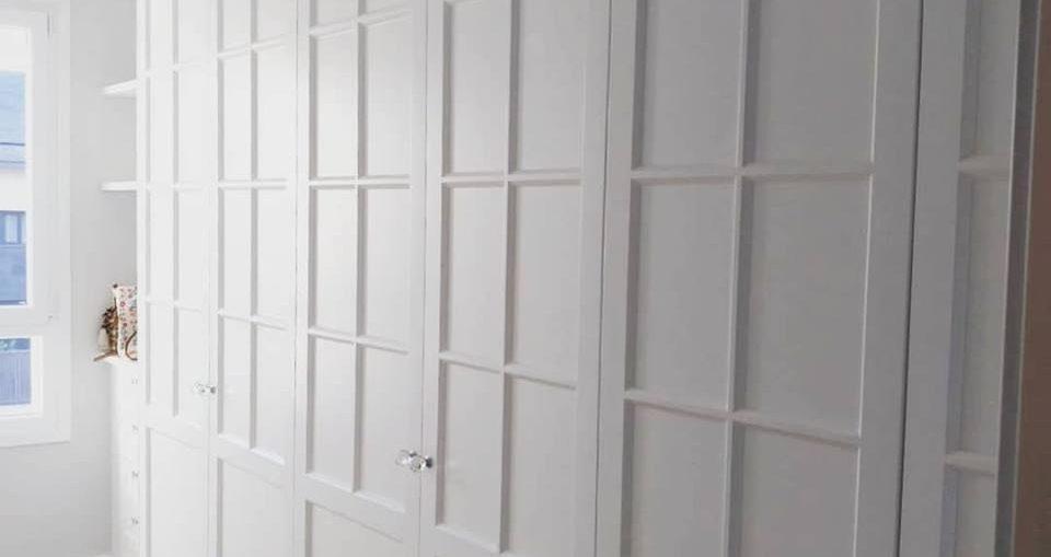 armario a medida blanco