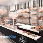 Mobiliario para panaderías y pastelerías