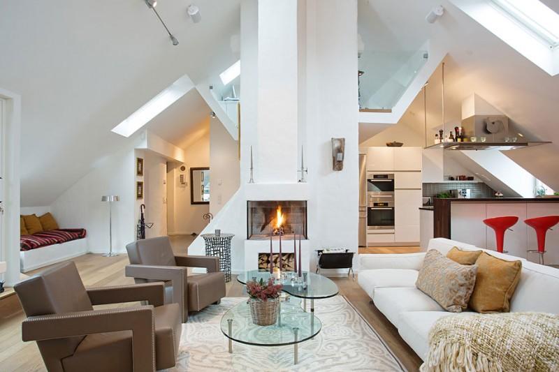 diseño de interiores blanco