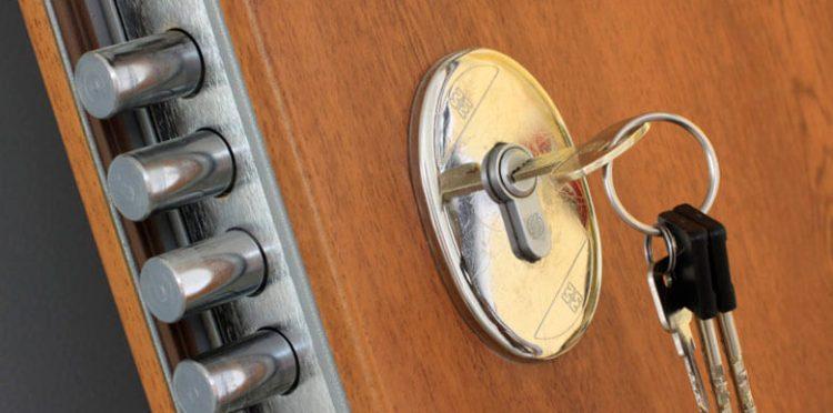 cerradura empotrada
