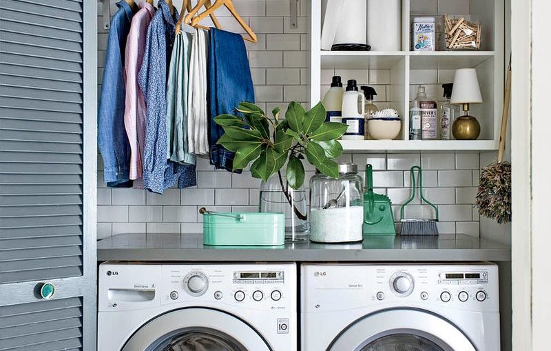 cuarto lavadora colada perfecta