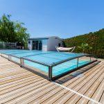 Cubiertas de cristal para piscinas