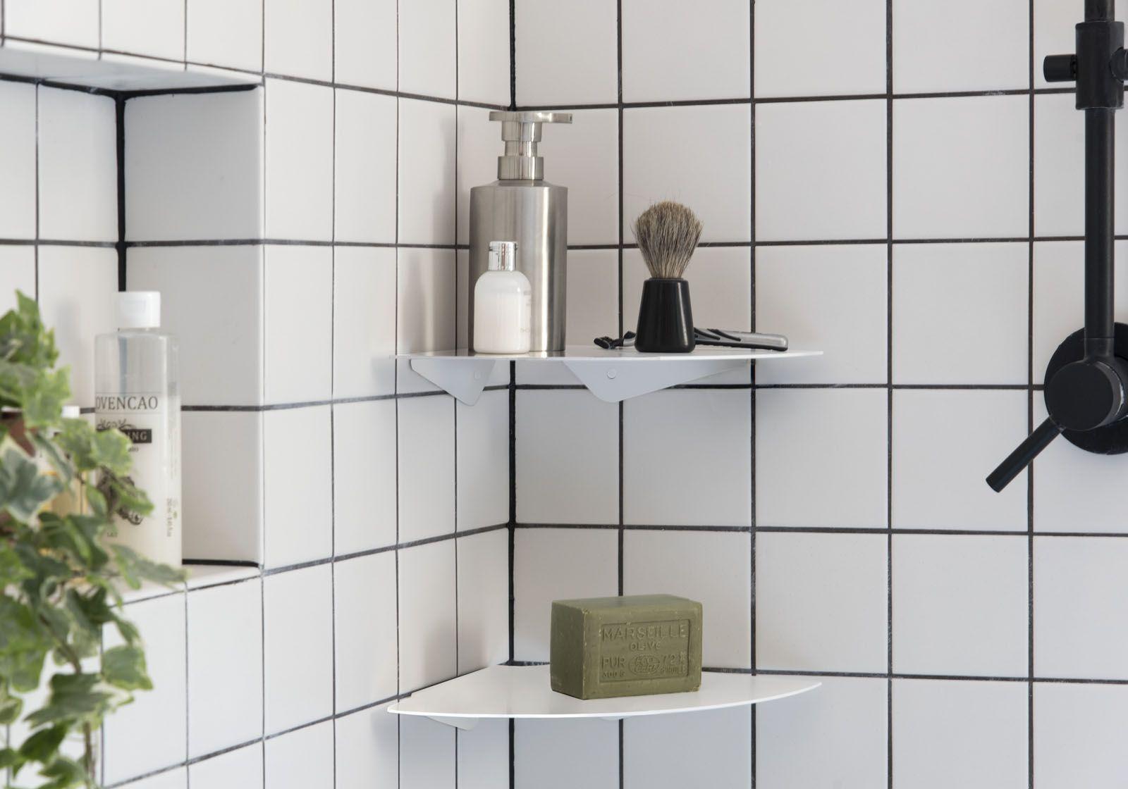 estantes ducha