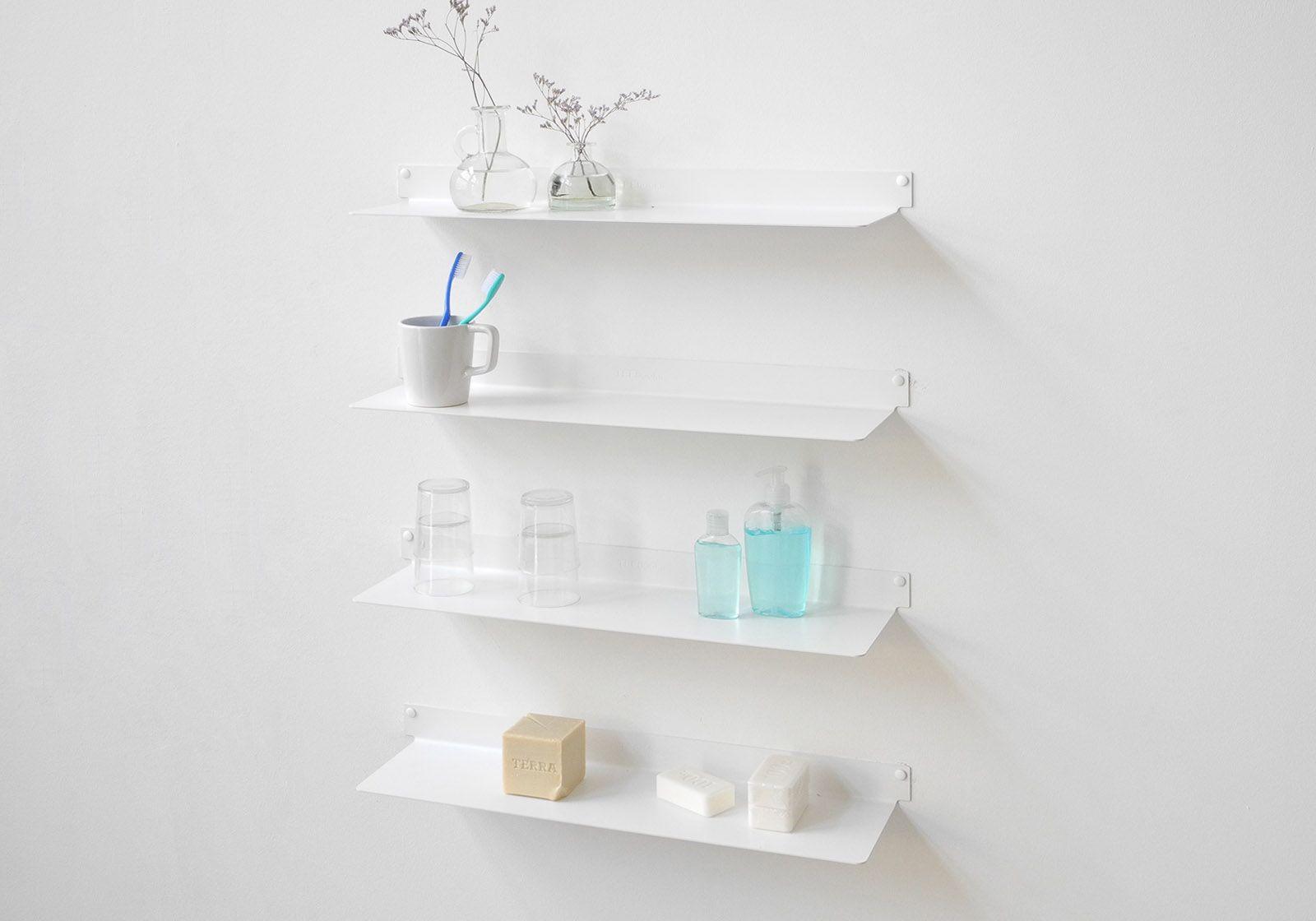 Ideas para elegir correctamente los estantes para el baño
