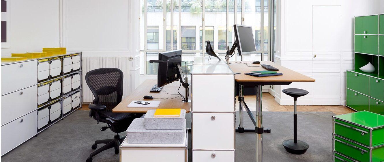 Muebles de segunda mano para oficinas