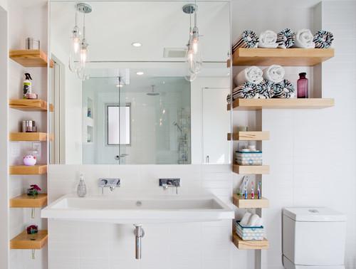 estanterías para el baño