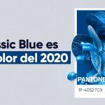 El Classic Blue es color de 2020 según Pantone