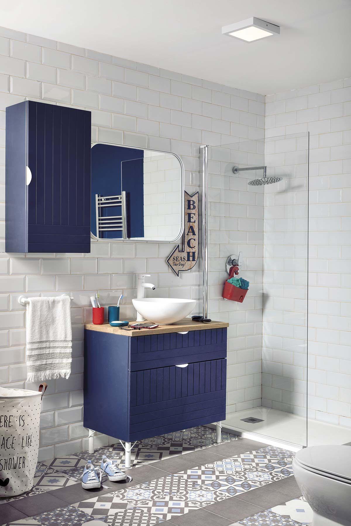 mueble classic blue
