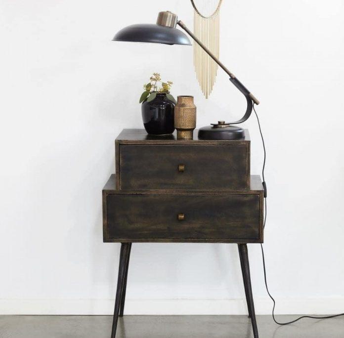 mesas auxiliares tipo boticario