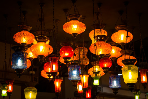lamparas turcas estilo árabe