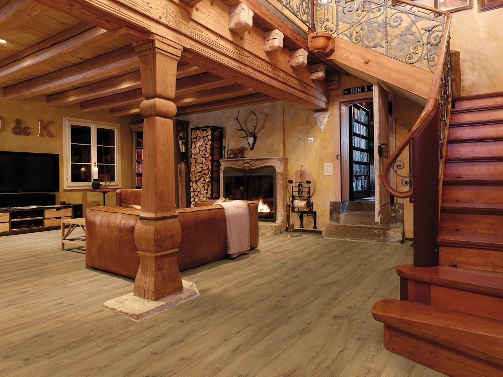 suelo laminado tradicional