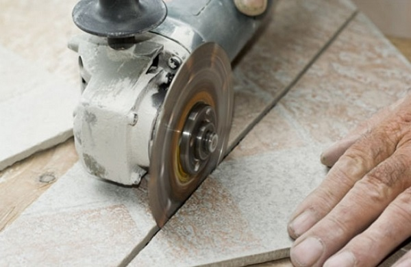 cortar granito con amoladora