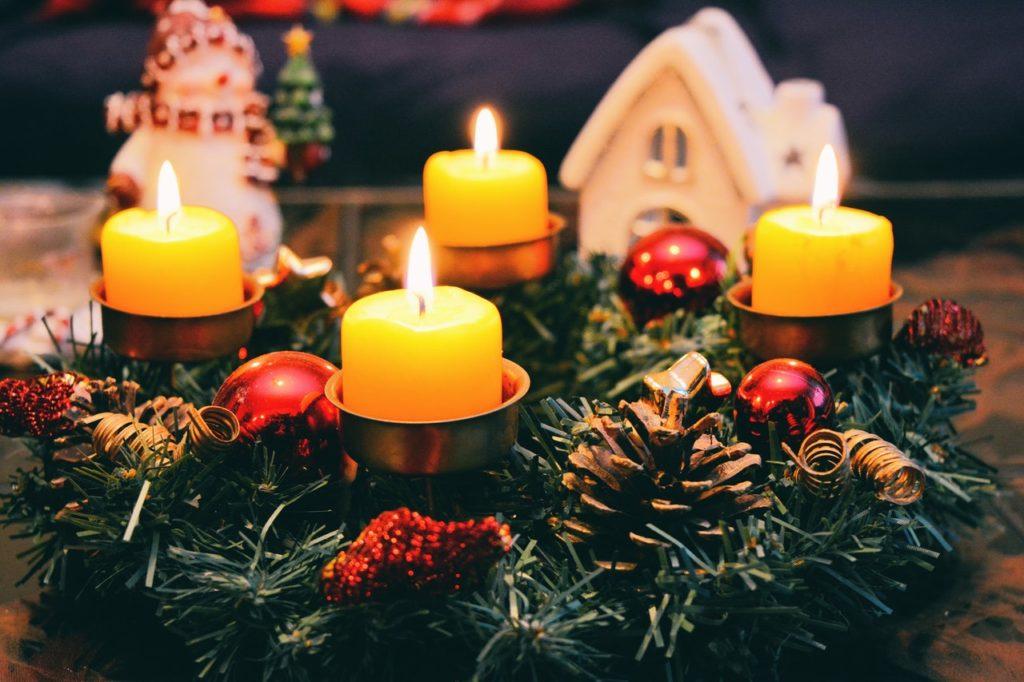 velas navidad