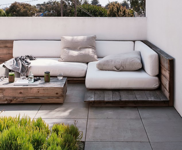 Palés terraza