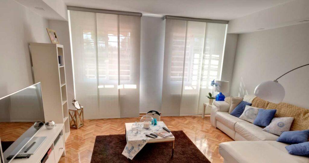 cortinas en salón