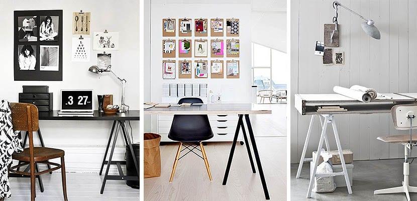 """Patas o caballetes: ¿Cuál es la tendencia para crear tu escritorio perfecto"""""""
