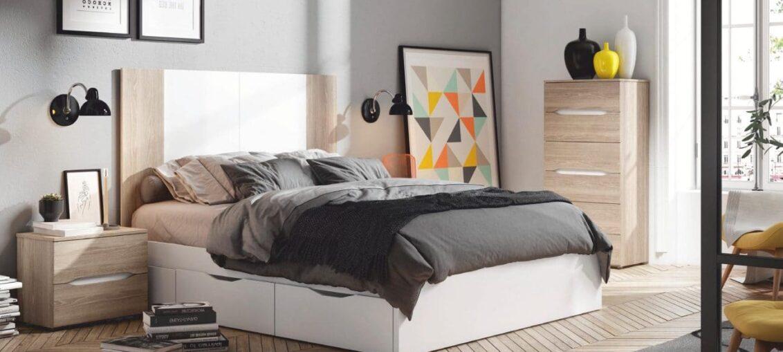 canapé cama habitación pequeña