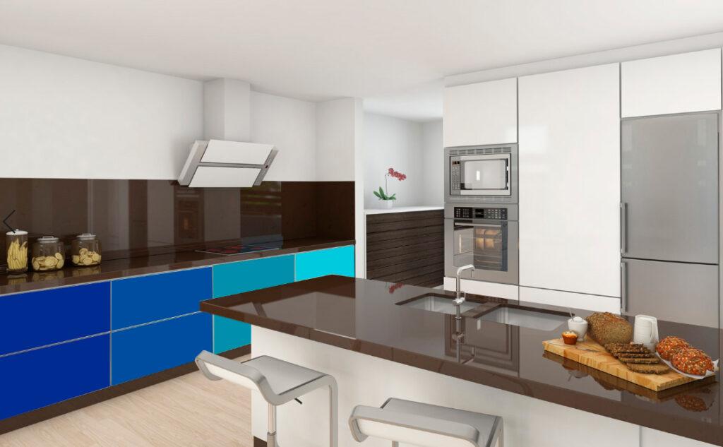 muebles vinilo cocina