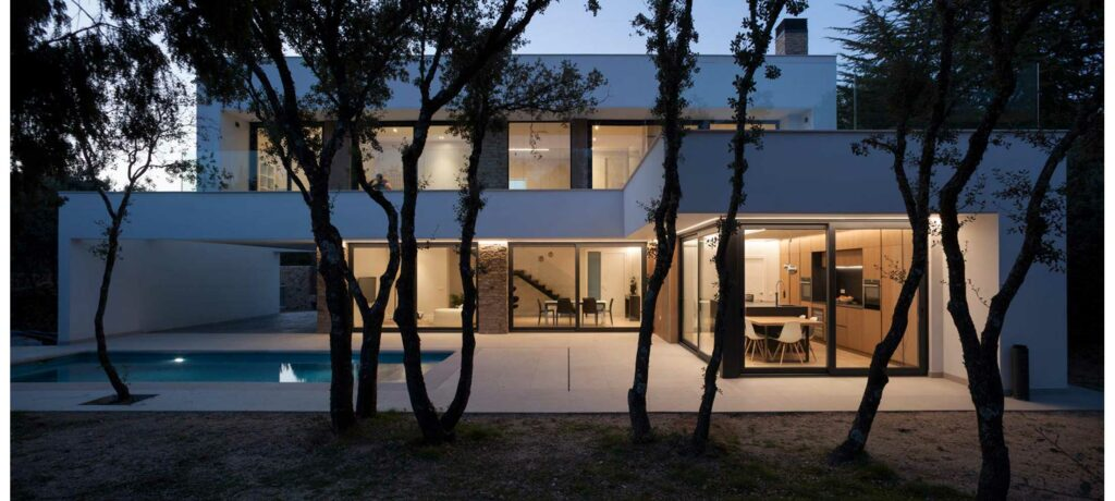 vivienda de diseño sostenible Estudio3 Arquitectos
