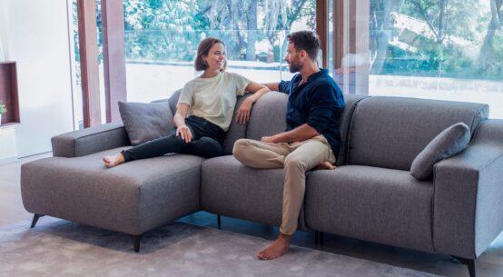 Sofa relax con chaiselongue