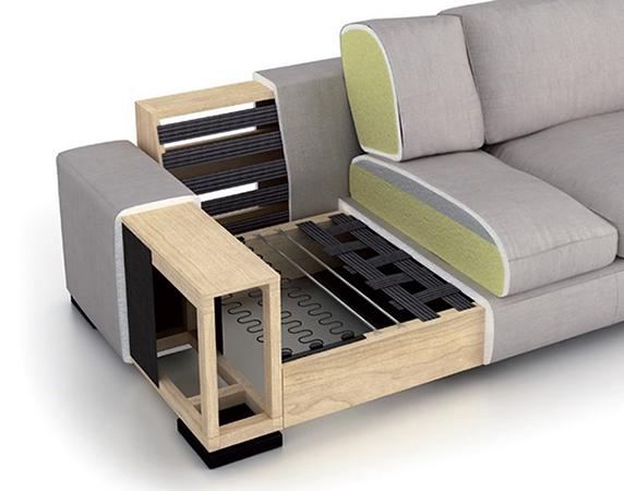 estructura sofá
