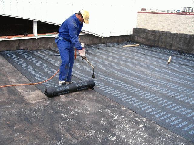 tela asfaltica humedades en terrazas