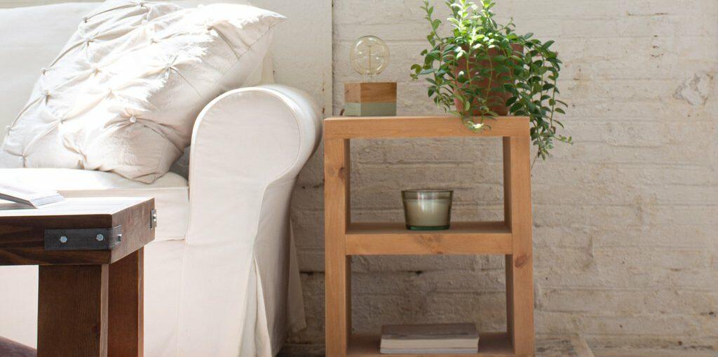 Guía básica para decorar con madera natural