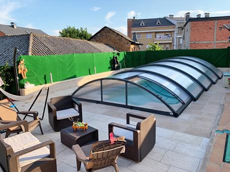 Diferencias entre cubiertas altas y cubiertas bajas de piscinas
