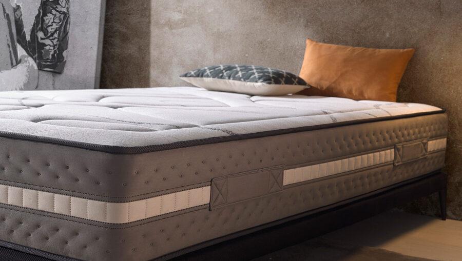 colchón gris
